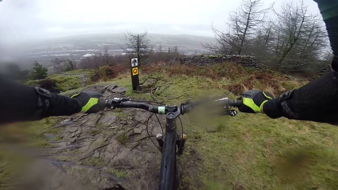 Bike Park Wales Rock N Roll Black Run With Harry Dave And