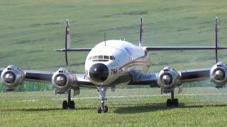 Super Constellation L1049 Lockheed RC Scale 4x Gas Engine Airplane