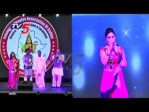 Bathukamma Celebrations In Dallas USA | Telangana Peoples Association Of Dallas | TV5 News