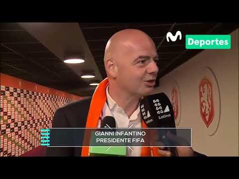 Movistar Deportes - Entrevista a Gianni Infantino
