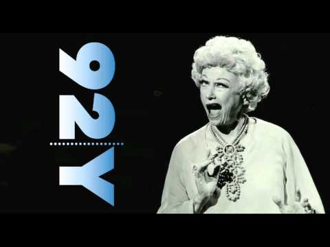 An Evening With Phyllis Diller  92Y Talks