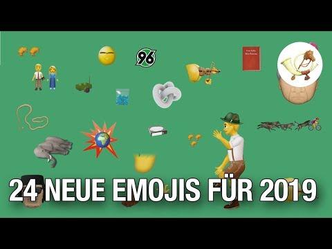 24 Neue Emojis, Die 2019 Auf Dein Smartphones Kommen