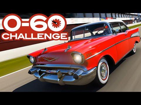 0-60 MPH Challenge: Every 1950s Car In Forza 6 - Formula E