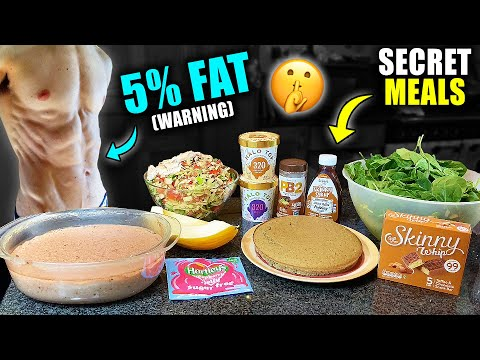 The 5 MEALS that got me to *5% BODY FAT* | My *SECRET* High Volume, Low Calorie Recipes