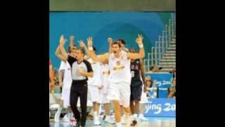 Final baloncesto Beijing Pekin 2008 (Spain España 107 - USA EEUU 118)