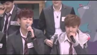 BTS Jungkook & EXO D.O Singing