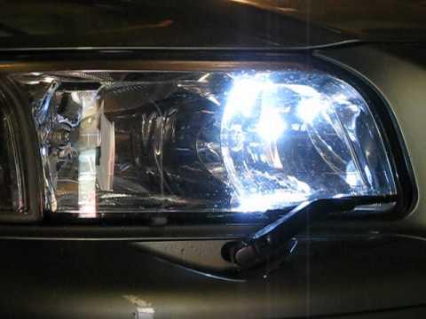 Volvo S80 headlight wiper washer - YouTube