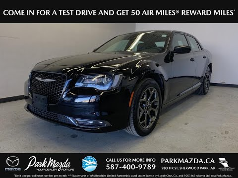 BLACK 2018 Chrysler 300  Review   - Park Mazda