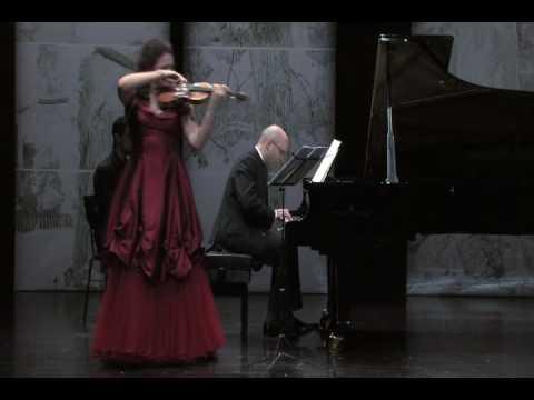 Mendelssohn - Violin Sonata in F major (1st Mvt) / Tatiana Samouil