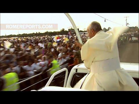 Những khoảnh khắc đáng nhớ nhất trong chuyến thăm Châu Mỹ Latinh của Đức Giáo Hoàng