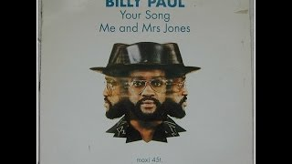 Billy Paul - Me And Mrs. Jones (The Best Of Billy Paul CD) Sub Español/ Inglés