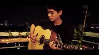 Liên Khúc Giáng Sinh 2018- Guitar Solo Cover By Hồ Khoa Toàn