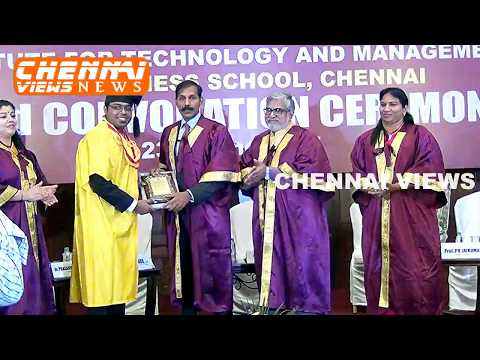 ITM Business School Chennai Convocation (2017)