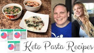 Week 42 KETO Results | PASTA Miracle Noodle Recipes