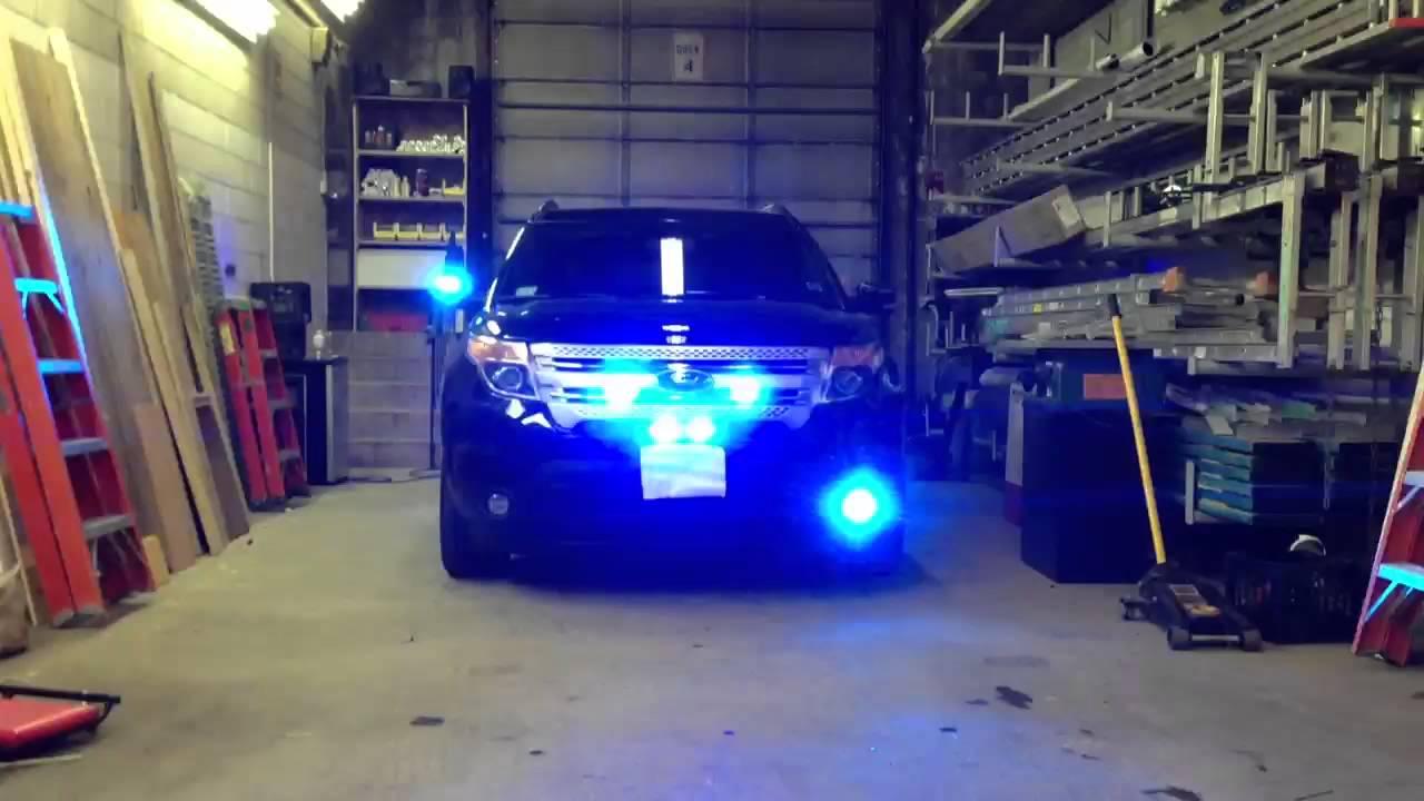 2012 Police Ford Explorer Interceptor Youtube