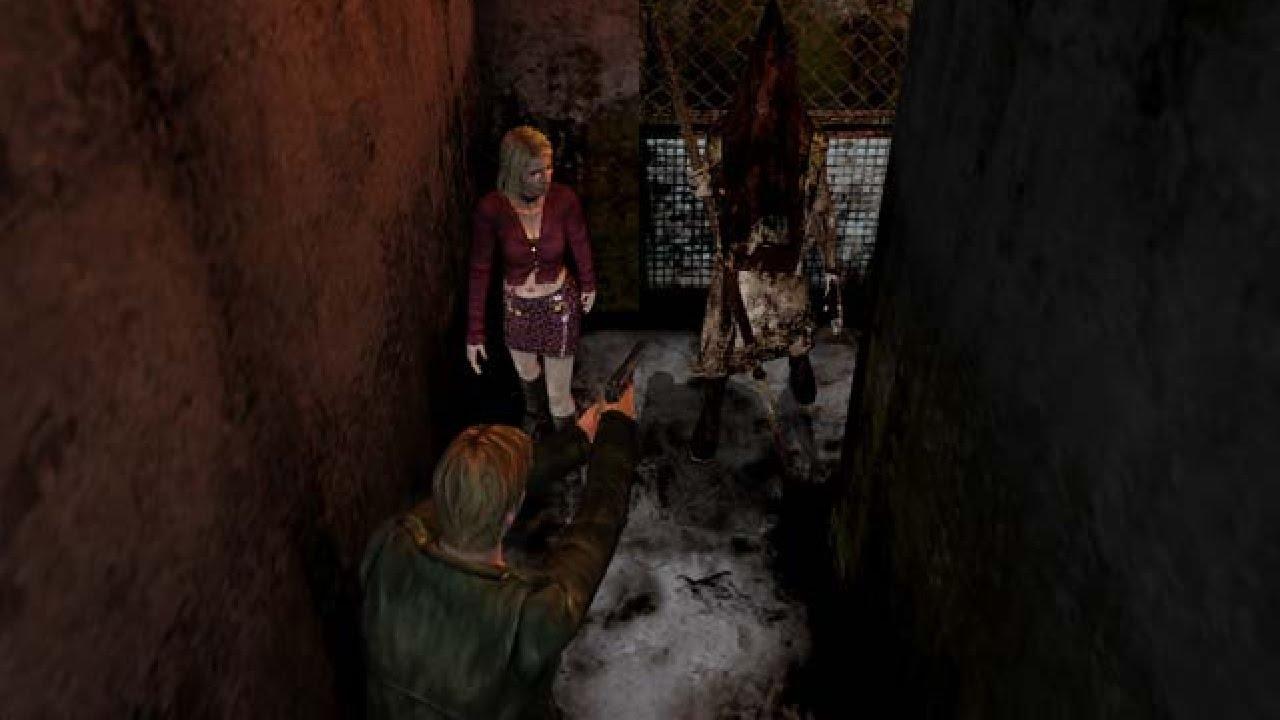 Silent Hill 2 Part 13 Pyramid Head Hallway Let S Play Youtube