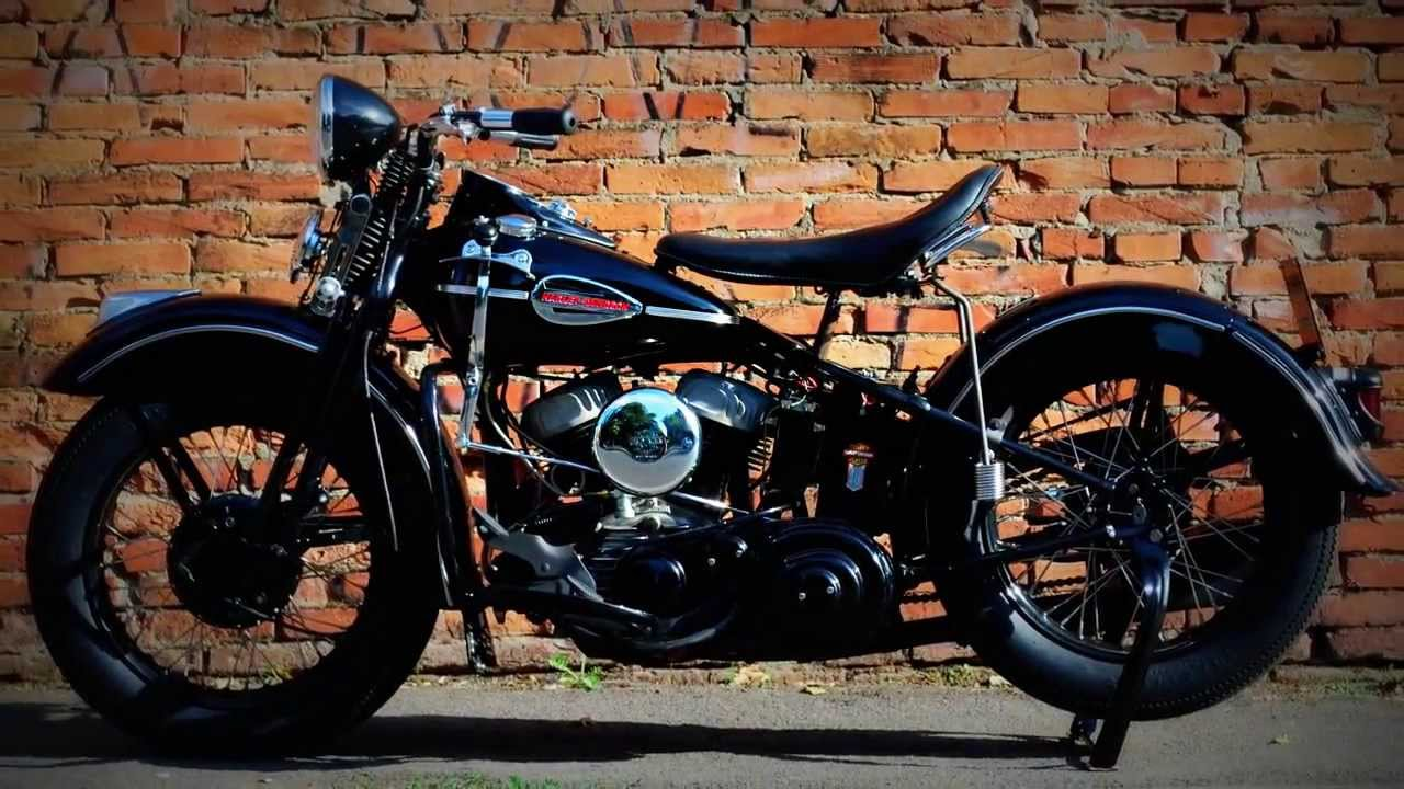 39 43 wl 45 harley davidson flathead timelapse restored by. Black Bedroom Furniture Sets. Home Design Ideas