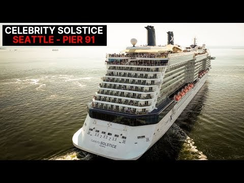 Celebrity Solstice - 2019 Epic Departure Alaska Cruise - Port Of Seattle - Pier 91