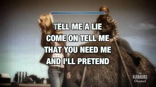 """Tell Me A Lie in the Style of """"Janie Fricke"""" with lyrics (with lead vocal)"""