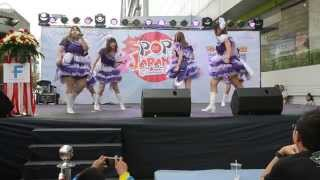 Fascinate Maiden cover Morning Musume for Pop Japan 2, 2015 at Fort...