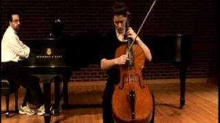 Drake Driscoll, Elgar Cello Concerto in E minor, Adagio-Moderato (1st movement)