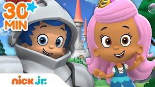 Bubble Guppies 30 Minute FairyTale Adventure Marathon!   Music & Games   Nick Jr.