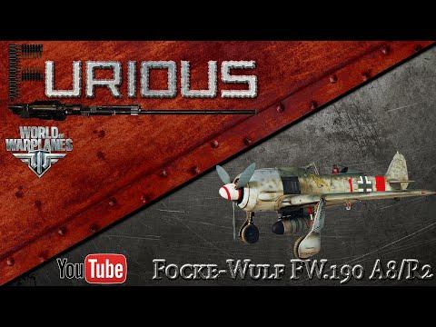 World of Warplanes: Стрим на Focke-Wulf Fw.190A-8/R2