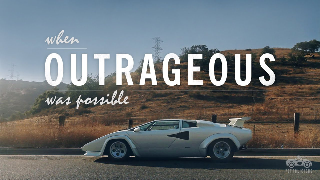 Lamborghini Countach When Outrageous Was Possible Youtube