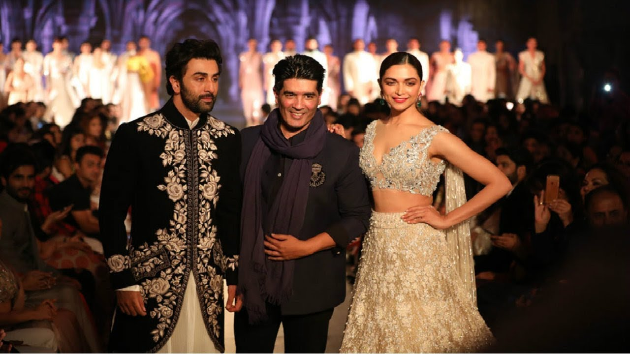 Deepika Padukone and Ranbir Kapoor Walk For Mijwan X Manish Malhotra  Summer Couture 2018