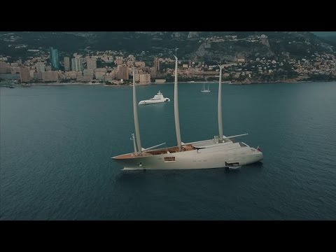 $350 MILLION DOLLAR SAILING YACHT!