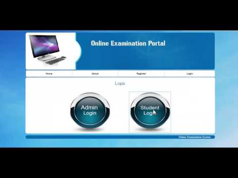Online Objective Examination System