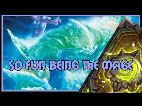 Hearthstone: So fun being the mage (elemental mage)
