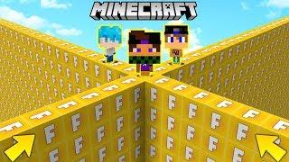 MURO di LUCKYBLOCK di FORTNITE GIGANTE !! - Minecraft ITA