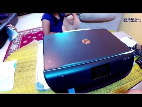 HP Deskjet 4535 Ink Adv Wireless Printer, Hands on Review, Unboxing, Madhukar KR, Neha Media House