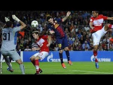 Lionel Messi All Goals • Champions League 2014 • HD