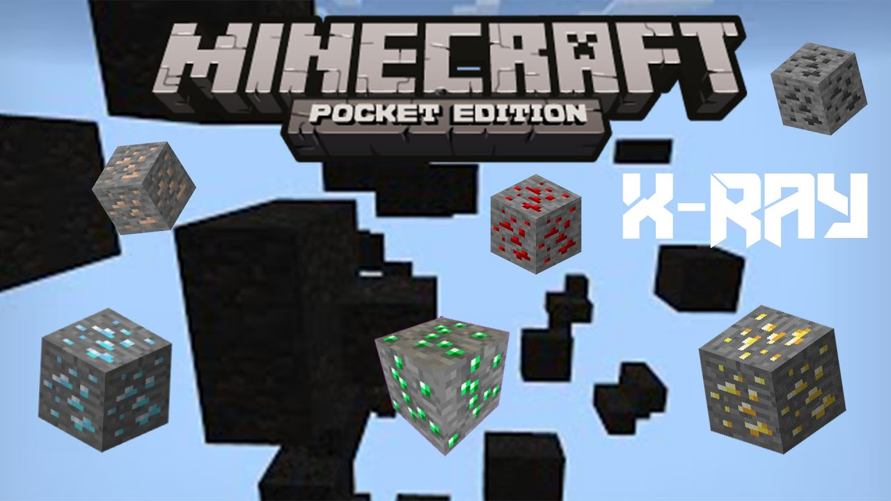 How to get X-ray mod on Minecraft PE
