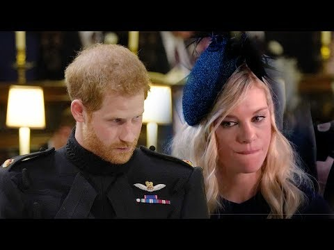 """How Prince Harry & Ex-girlfriend Chelsy had a """"tearful"""" phone call before the royal wedding"""