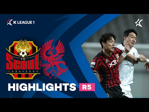 Seoul Gwangju FC Goals And Highlights