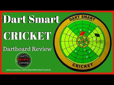 Dart Smart Cricket dartboard review