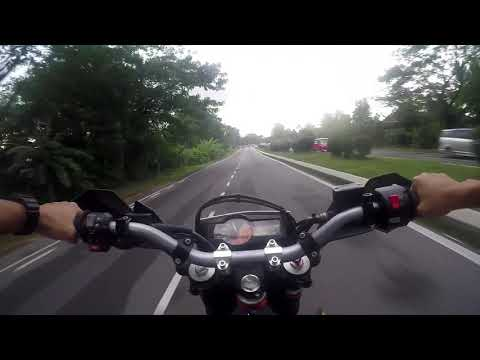 KTM  Enduro (wheelie training)