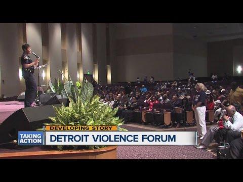 Detroit Violence Forum