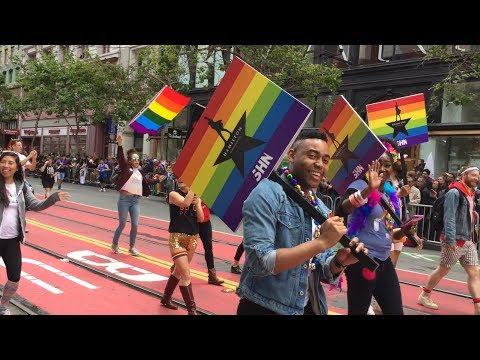 HAMILTON in the San Francisco Pride Parade