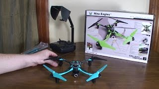 Nine Eagles - Galaxy Visitor 6 WiFi FPV - Review and Flight