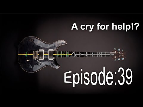 Guitar Shed Diary 39: Inlay Design Reveal - A Cry For Help.