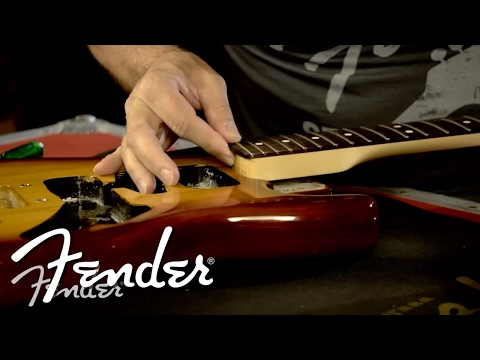 How to Attach a Fender Guitar Neck to a Body | Fender