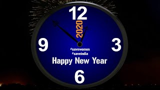 HappyNewYear2020 Happy New Year 2020 New Clock Countdown AfterEffects Whatsapp status