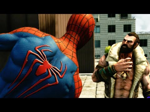 The Amazing Spider Man 2 - Into The Lions Den Mission 6 - Super Hero Difficulty