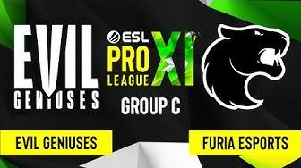 CS:GO - Evil Geniuses vs. FURIA Esports [Nuke] Map 3 - ESL Pro League Season 11 - Group C