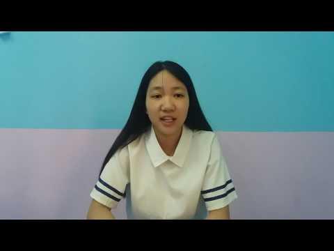 Scholarship winner Dương's winning video entry