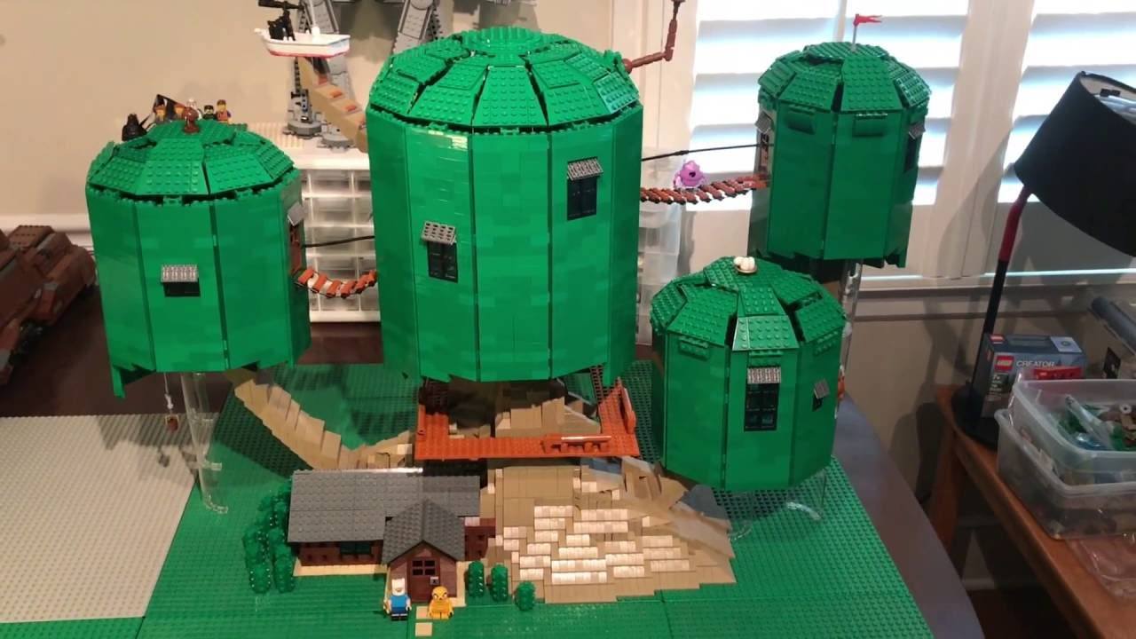 Lego Adventure Time Treehouse Youtube